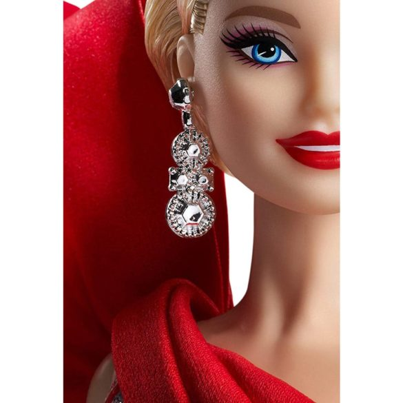 Papusa Barbie Collector Holiday 2019 Blonda 3