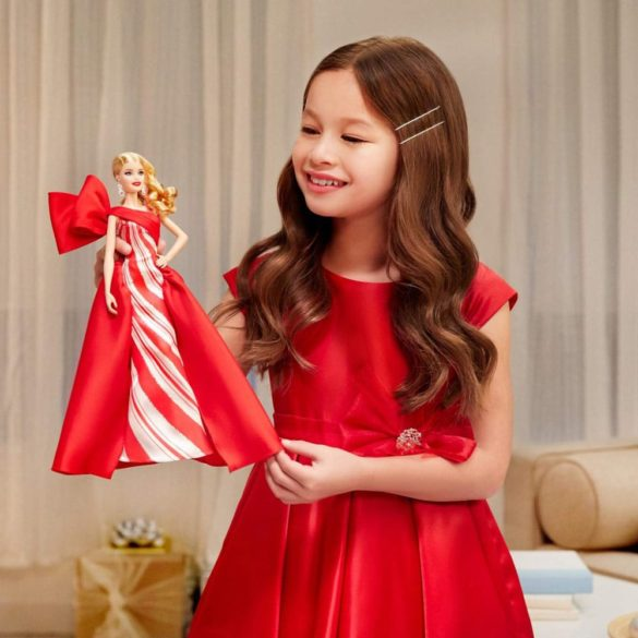 Papusa Barbie Collector Holiday 2019 Blonda 5