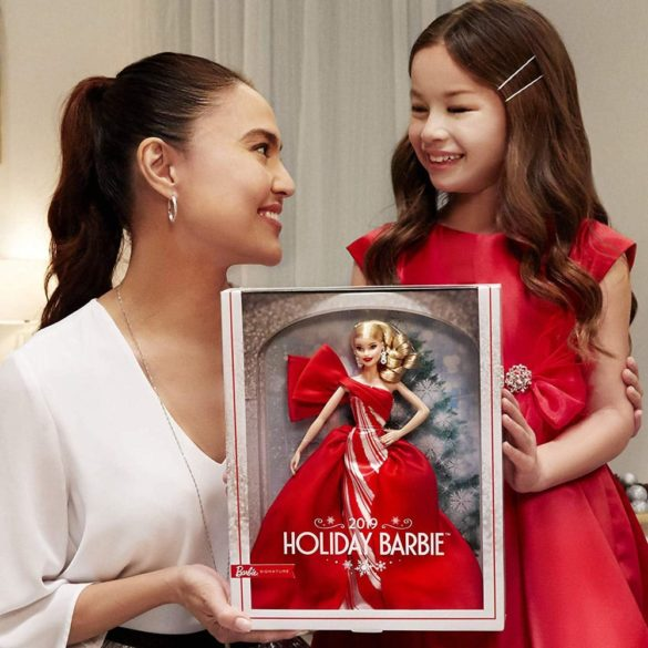 Papusa Barbie Collector Holiday 2019 Blonda 6