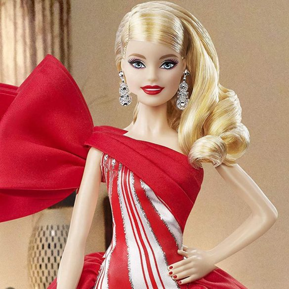 Papusa Barbie Collector Holiday 2019 Blonda 8