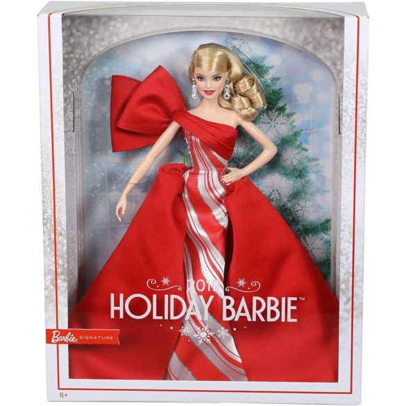 Papusa Barbie Collector Holiday 2019 Blonda 9