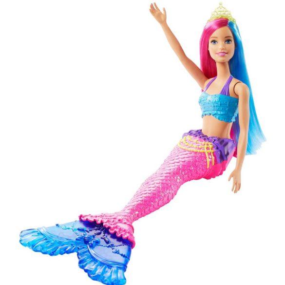 Papusa Barbie Sirena Albastra GJK08 5