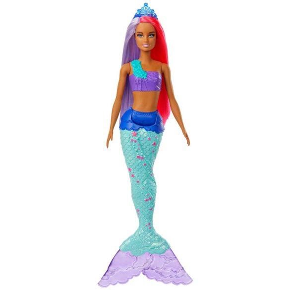 Papusa Barbie Sirena Mov GJK09