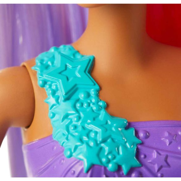 Papusa Barbie Sirena Mov GJK09 4