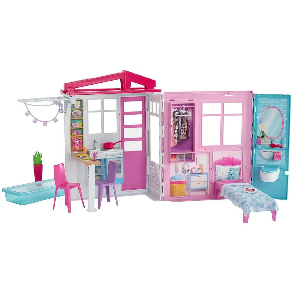 Set de Joaca Barbie Casa cu Accesorii