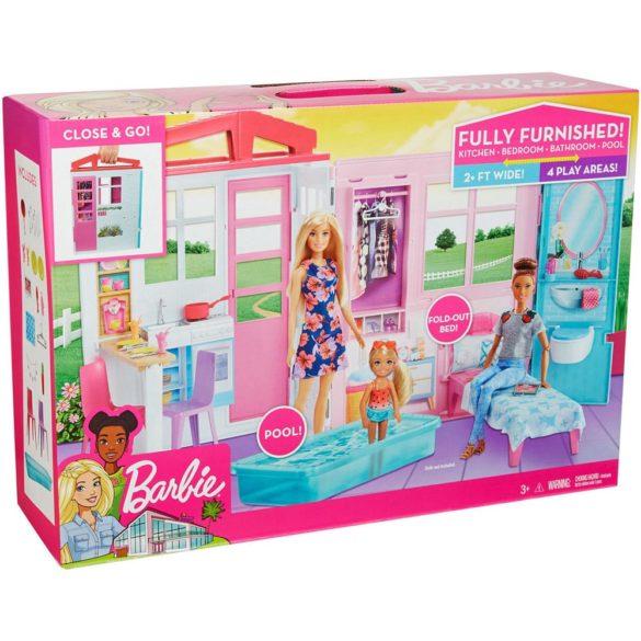 Set de Joaca Barbie Casa cu Accesorii FXG54 9