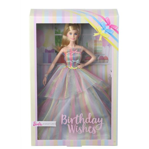 Papusa Barbie Collector Birthday Wishes 2020 6