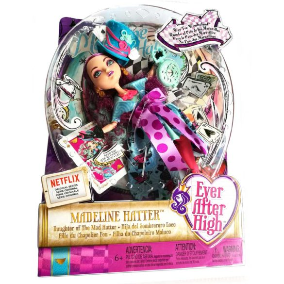 Ever After High Way Too Wonderland Papusa Madeline Hatter 2018 1