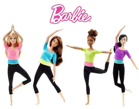 Papusa Barbie Complet Articulata