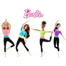 Papusa Barbie Made To Move Complet Articulata