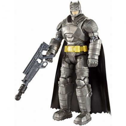 Batman v Superman Figurina Batman cu Armura de Lupta