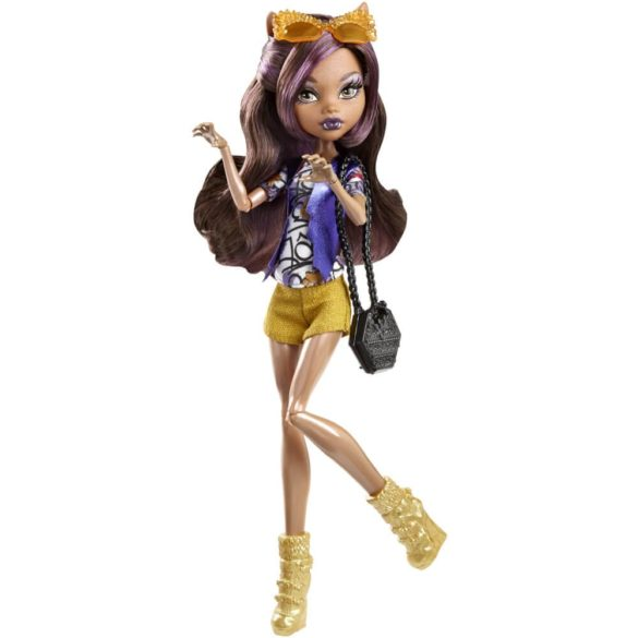 Boo York Papusa Monster High Frightseers Clawdeen Wolf 1