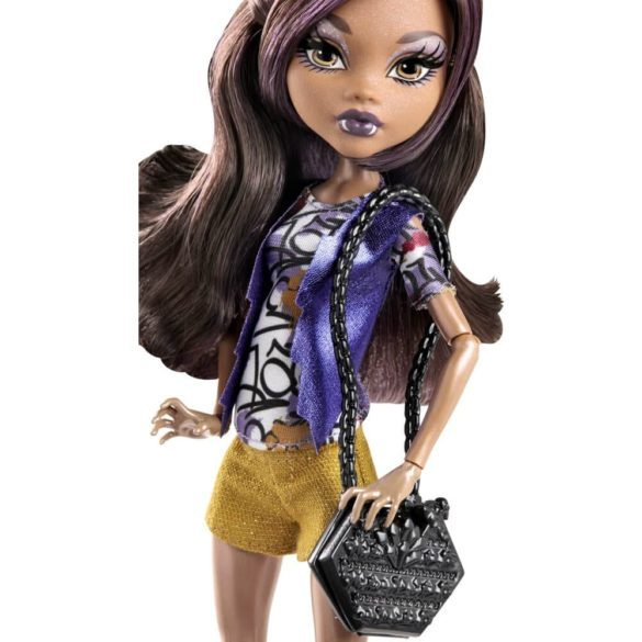 Boo York Papusa Monster High Frightseers Clawdeen Wolf 2