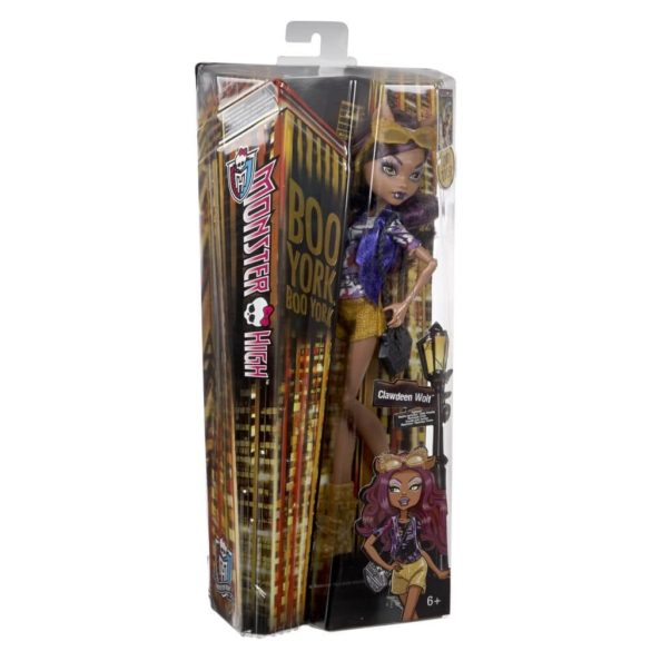 Boo York Papusa Monster High Frightseers Clawdeen Wolf 6