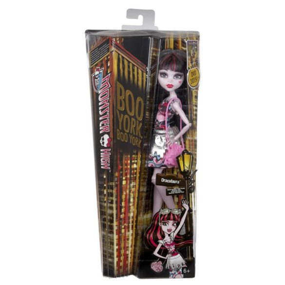 Boo York Papusa Monster High Frightseers Draculaura 6