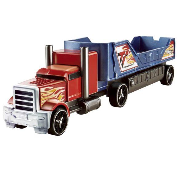 Camion Hot Wheels de Ciocnit Rosu Albastru 1