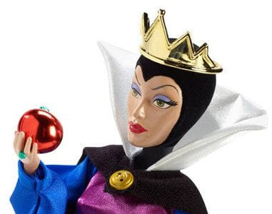 Disney Personaje Negative Papusa Evil Queen