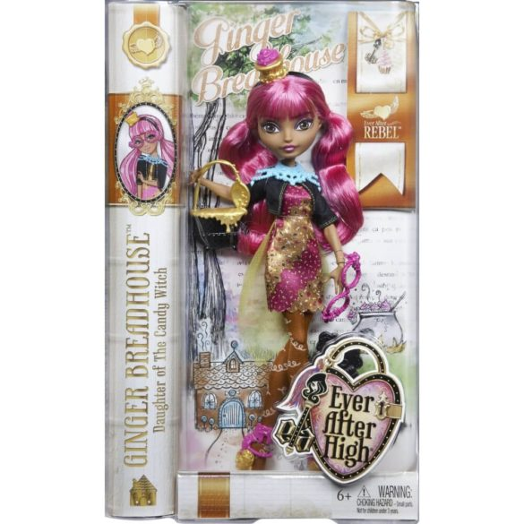 Ever After High Papusa Ginger Breadhouse 6