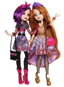 Ever After High Set 2 Papusi Holly si Poppy O'Hair
