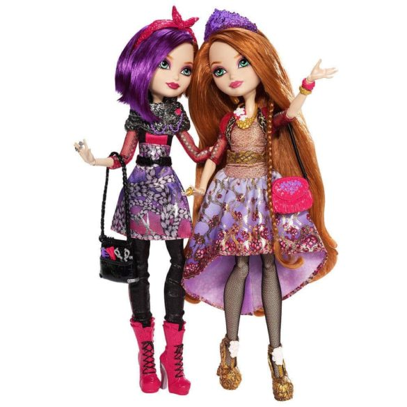 Ever After High Set 2 Papusi Holly si Poppy OHair 1