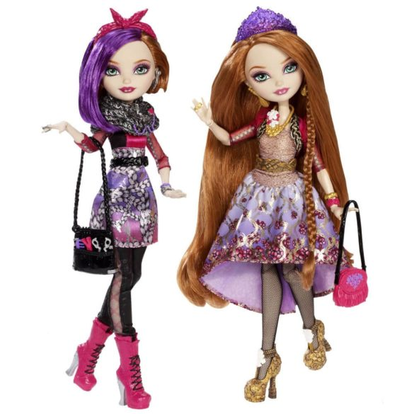 Ever After High Set 2 Papusi Holly si Poppy OHair 3