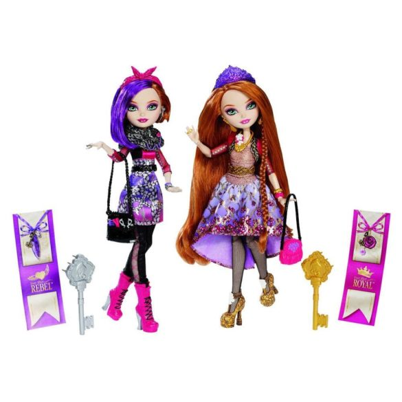 Ever After High Set 2 Papusi Holly si Poppy OHair 4