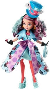 Ever After High Way Too Wonderland Papusa Madeline Hatter