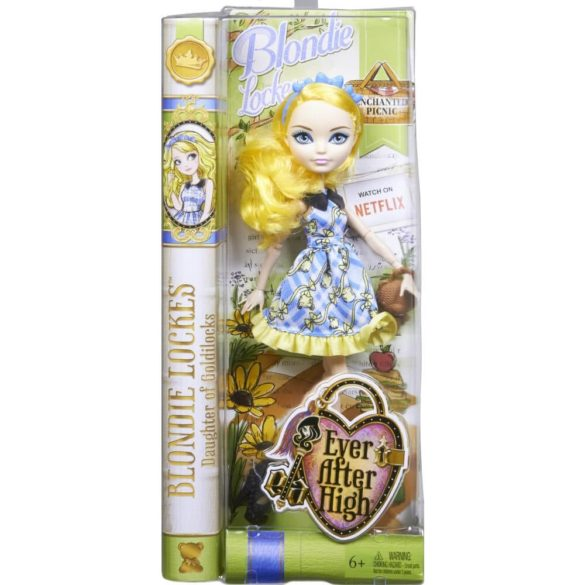 Ever After High Zi de Picnic Papusa Blondie Lockes 6