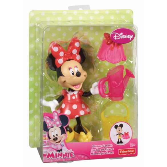 Figurina Minnie Mouse in gradina 4