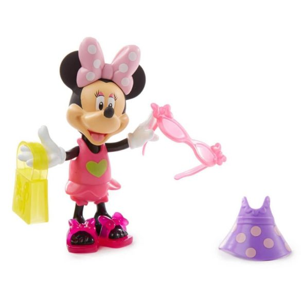 Figurina Minnie Mouse la plaja 11