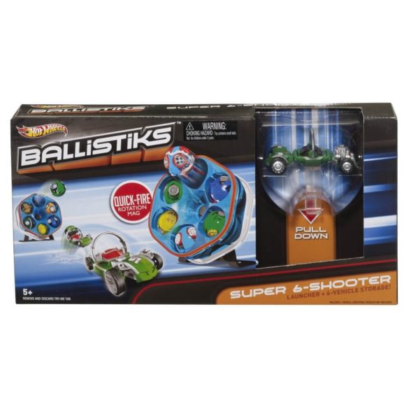 Hot Wheels Ballistiks Super Tragatorul 4