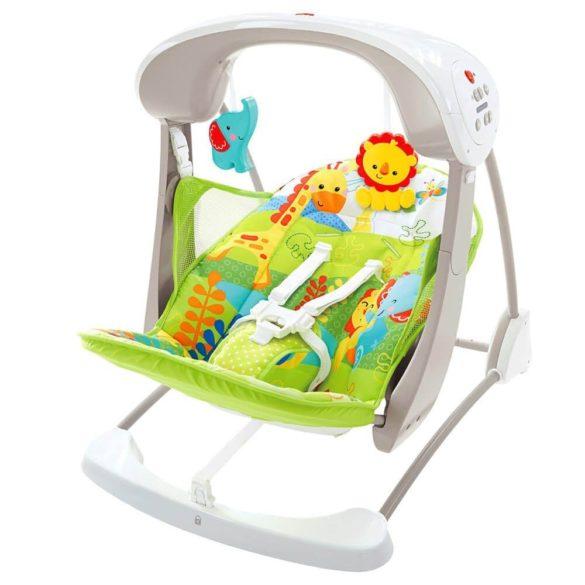 Leagan si scaun nou nascuti pliabil Fisher Price 1