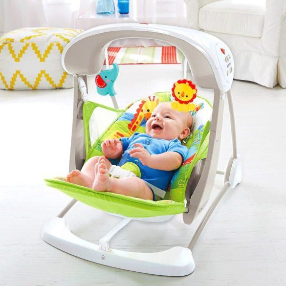 Leagan si scaun nou nascuti pliabil Fisher Price 2