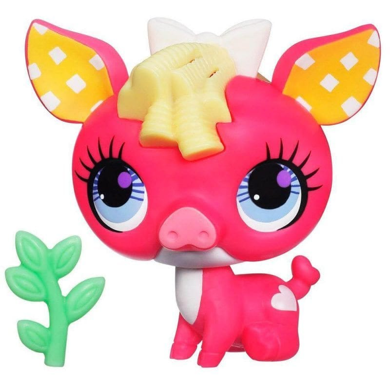 Littlest Pet Shop Figurina Cu Sunete Purcelus