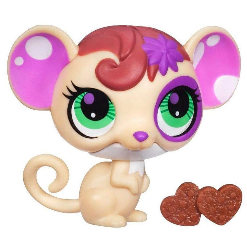 Littlest Pet Shop Figurina cu Sunete Soricel