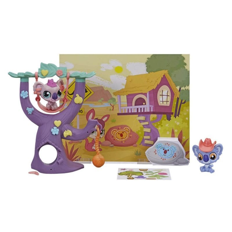 Littlest Pet Shop Set de Joaca Casuta din Copac