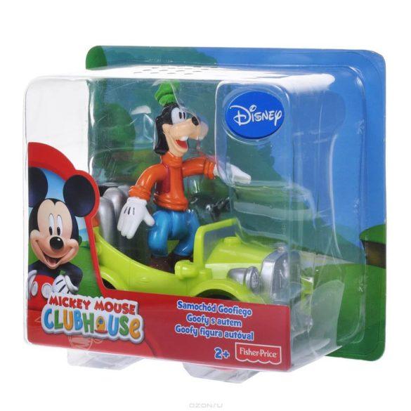 Mickey Mouse ClubHouse Figurina Goofy si masinuta 2