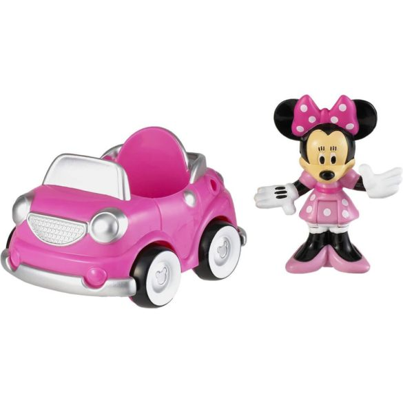 Mickey Mouse ClubHouse Figurina Minnie si Masinuta 1