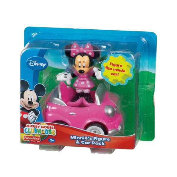 Mickey Mouse ClubHouse Figurina Minnie si Masinuta 2