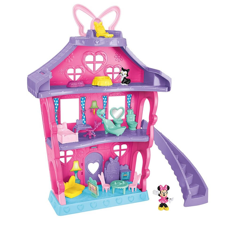 Set de joaca Minnie Mouse Casa Polka