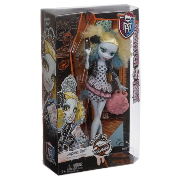 Monster Exchange Papusa Lagoona Blue 5