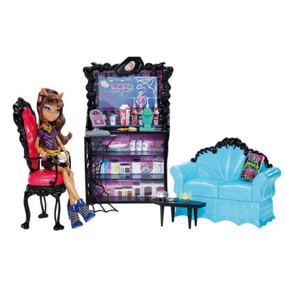Monster High Cafeneaua Coffin Bean si Clawdeen Wolf 1