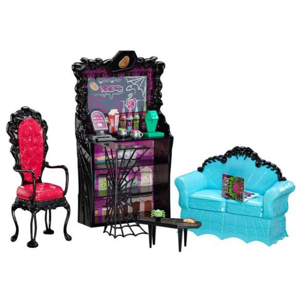 Monster High Cafeneaua Coffin Bean si Clawdeen Wolf 2