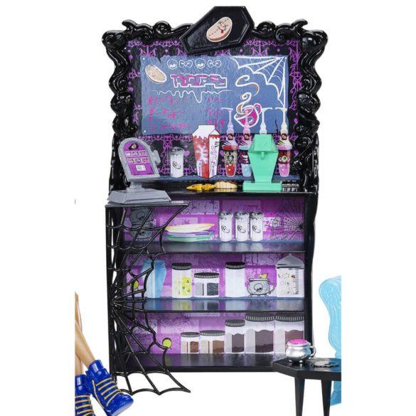 Monster High Cafeneaua Coffin Bean si Clawdeen Wolf 3