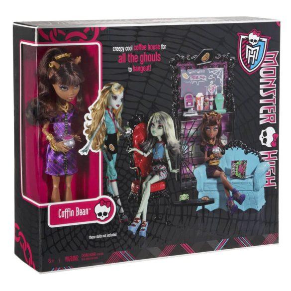 Monster High Cafeneaua Coffin Bean si Clawdeen Wolf 9
