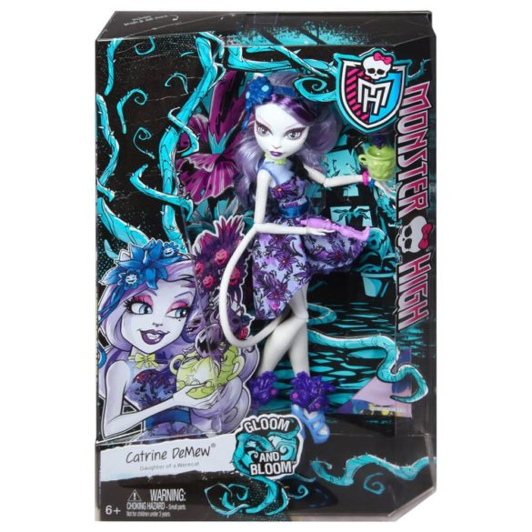 Monster High Colectia Gloom and Bloom Papusa Catrine DeMew 6