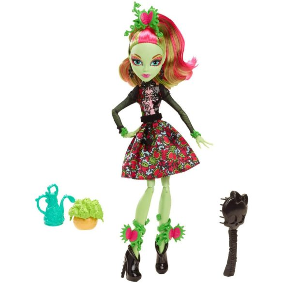Monster High Colectia Gloom and Bloom Papusa Venus McFlytrap 1