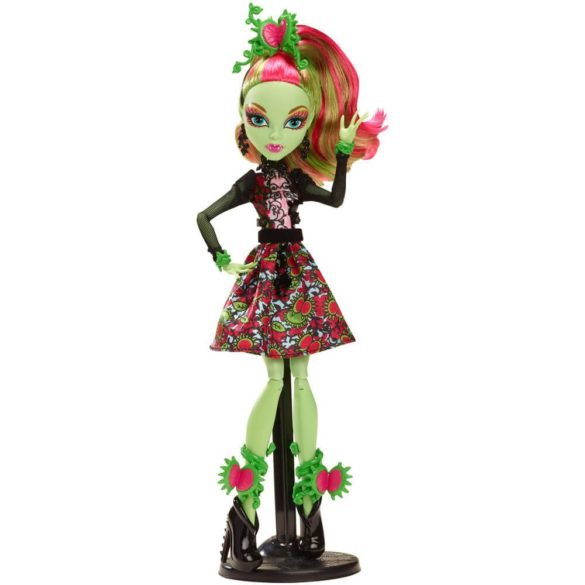 Monster High Colectia Gloom and Bloom Papusa Venus McFlytrap 5