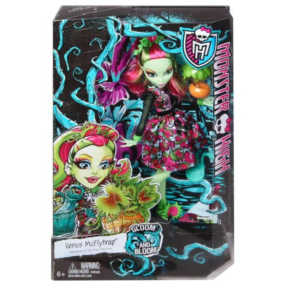 Monster High Colectia Gloom and Bloom Papusa Venus McFlytrap 6