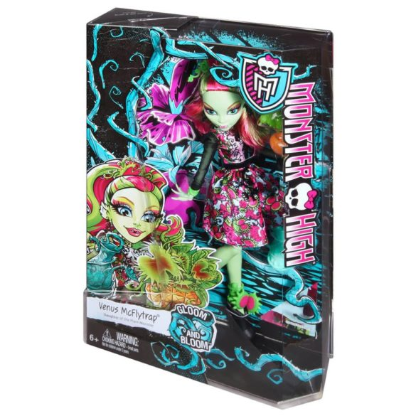 Monster High Colectia Gloom and Bloom Papusa Venus McFlytrap 7